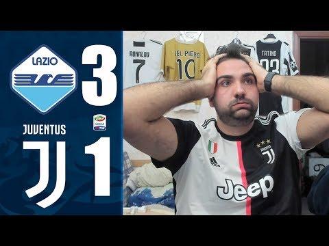CHE SCHIFO ⚽ LAZIO 3-1 JUVENTUS | REACTION T4TINO23