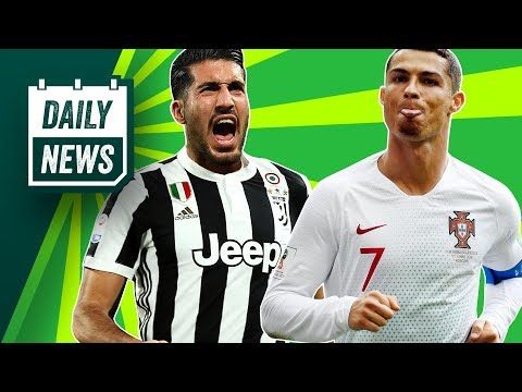 TRANSFERS and WORLD CUP NEWS: Emre Can to Juventus, Ronaldo's dodgy beard + Bale unhappy at Madrid