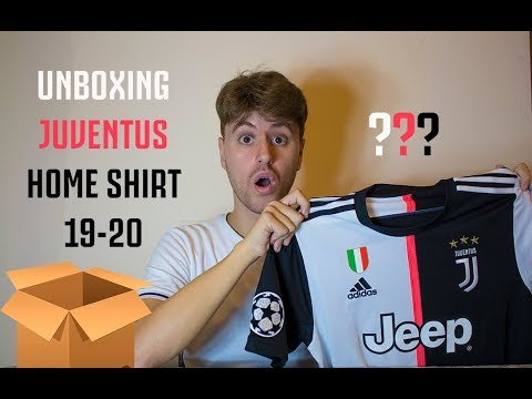 ? UNBOXING JUVENTUS HOME SHIRT 19-20 PATCH CHAMPIONS