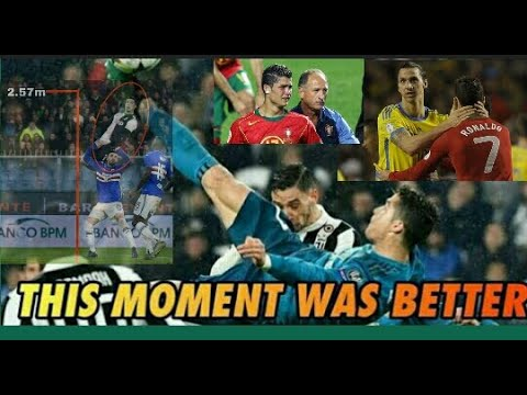 Cristiano Ronaldo  moments for Juventus Man.united Real Madrid history