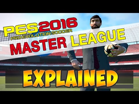 [TTB] PES 2016 Master League – Explained – Everything you need to know!
