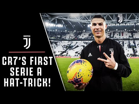 HAT-TRICK HERO | CRISTIANO RONALDO'S FIRST JUVENTUS SERIE A TRIPLE!