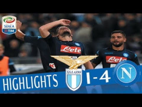 Lazio – Napoli 1-4 – Highlights – Giornata 5 – Serie A TIM 2017/18