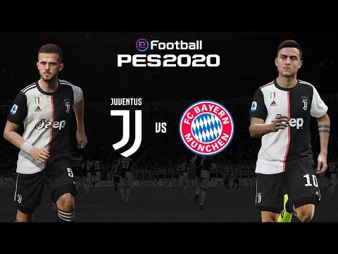 Juventus v Bayern Munich 🎮 | PES 2020 Friendly ⚽| ESPORTS