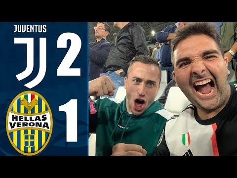 JUVENTUS 2-1 VERONA | RONALDO TRASCINATORE! REACTION DALL' ALLIANZ STADIUM CON EZEKTOOR