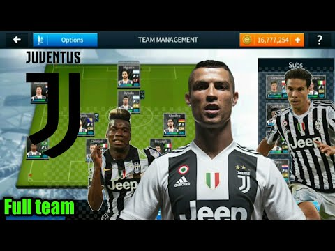 How to make juventus full team on dream league soccer 2018| latest