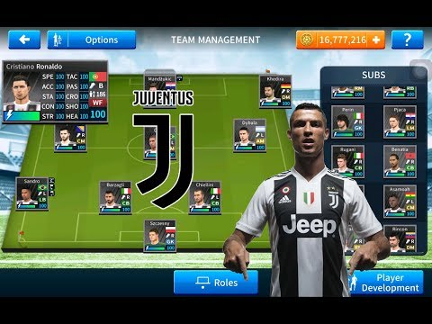 How To Download Juventus Team 2018 19 ● All Players 100 ● Dream League Soccer 2019 *NEW UPDATE*