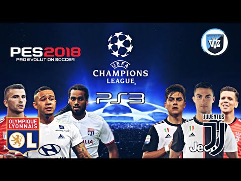 UEFA CHAMPIONS LEAGUE / OLYMPIQUE LYON VS JUVENTUS / TEAM XPORT / PS3 – PES2018
