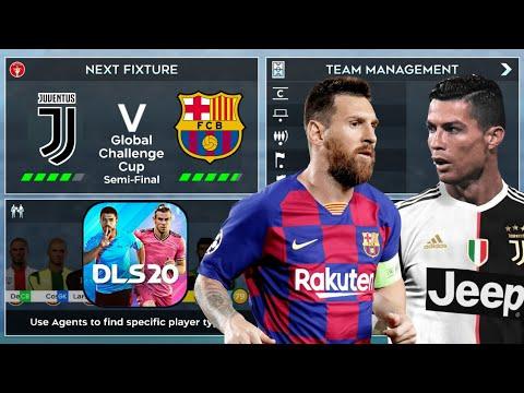 DLS 20 ⚽ Barcelona vs Juventus | Semi-Final Global Challenge Cup Gameplay HD