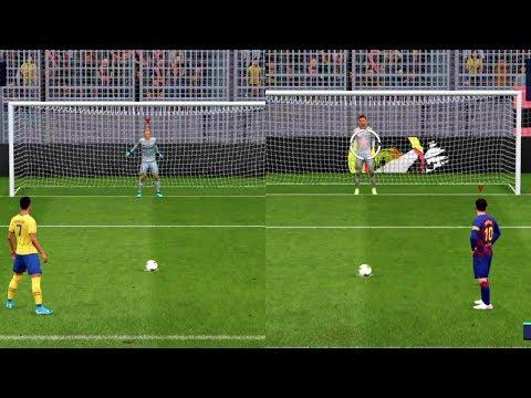 Barcelona VS Juventus FIFA 2020 Penalty Shootouts