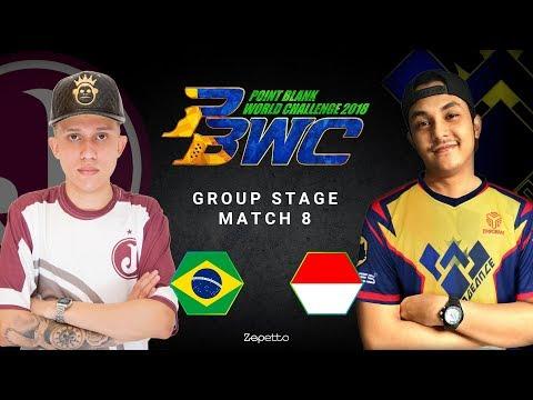 PBWC 2018 Day 1 R8 Juventus(BR) vs PRFS VNG(ID) Group B