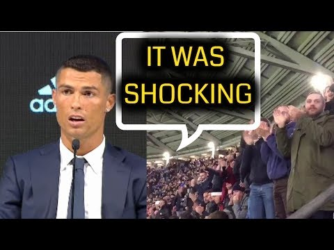 Ronaldo talking about standing ovation from Juventus fan is the reason for his transfer||English