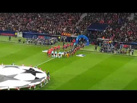 Atlético de Madrid vs Juventus – Mosaico himno