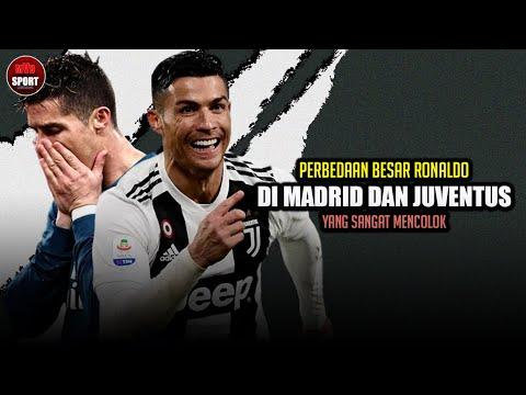 7 Perbedaan Besar Ronaldo di Real Madrid dan Juventus yang Sangat Mencolok