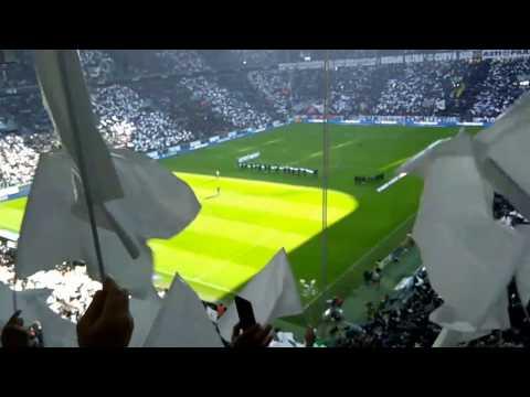 Juve-Lazio 2-0 formazioni e coreografia