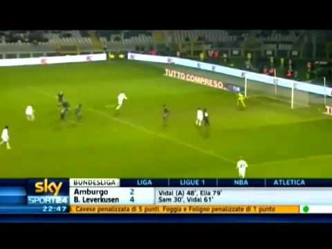 Juventus – Lazio 2-1 Ampia Sintesi Sky Sport HD (13-12-2010)