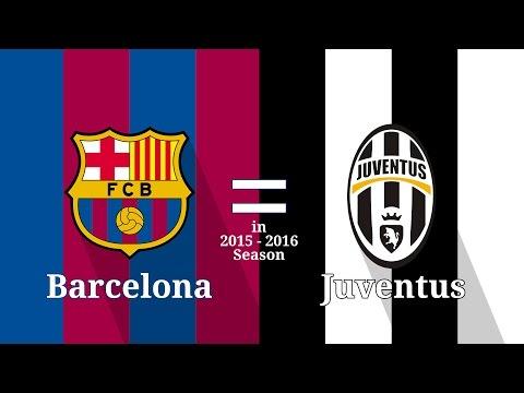 AMAZING NUMBERS Barcelona Equals Juventus