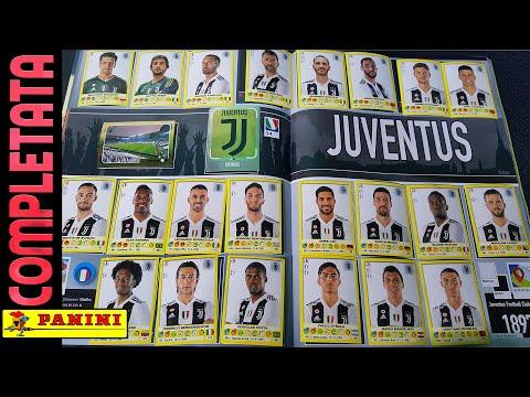 ⚽ JUVENTUS COMPLETATA! Panini Calciatori 2018-19!