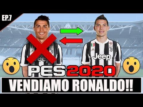 VENDIAMO CRISTIANO RONALDO!! + LOZANO ALLA JUVENTUS!! PES 2020 CAMPIONATO MASTER JUVENTUS #7 8